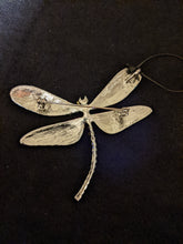 Load image into Gallery viewer, Dramatic Dragonfly Diamante Brooch/Pendant