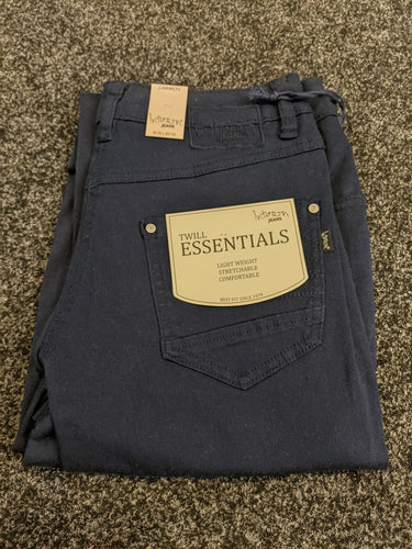 Intown Jeans - Carmen Relaxed fit Light Weight Cotton Twill Stretch