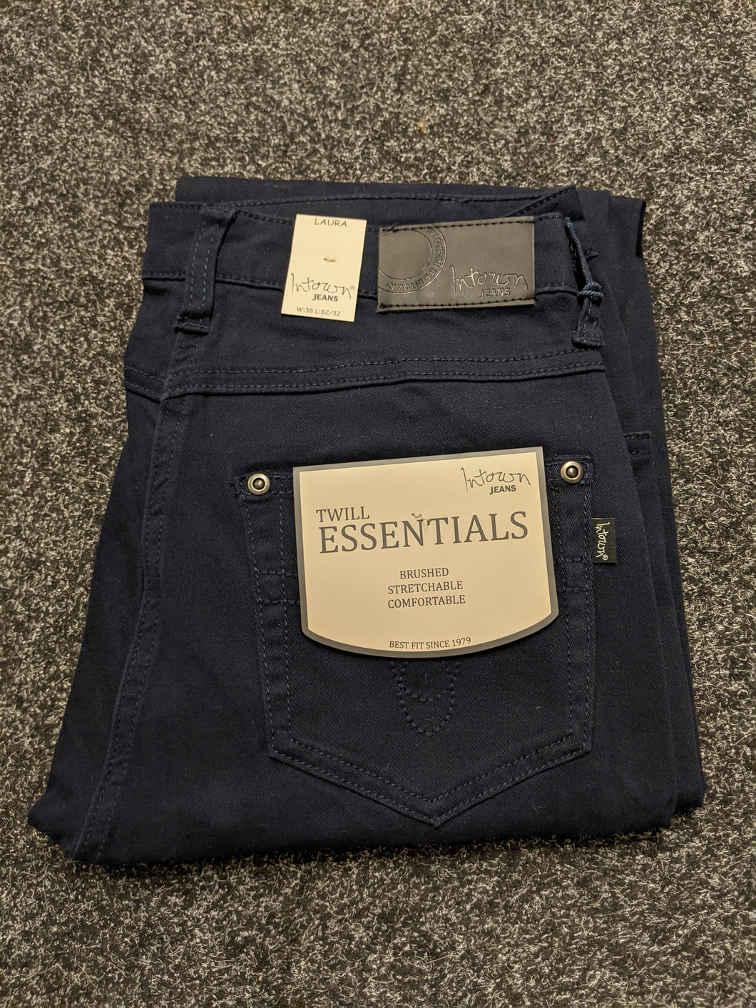 Intown Jeans - Laura Brushed Cotton Stretch