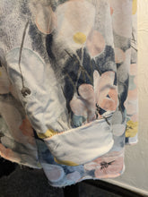 Load image into Gallery viewer, Long Line Sweatshirt in Bubbles and Flowers Print