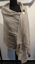 Load image into Gallery viewer, LINEN MIX SCARF  - Natural