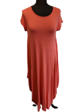 Load image into Gallery viewer, Plain Parachute Dress with Short Sleeve