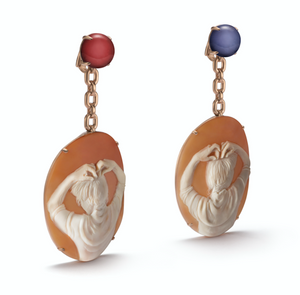 Mary earrings By Catherine Opie