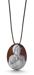 Oliver and Mrs. Nibbles pendant By Catherine Opie