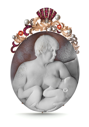 Self Portrait/Nursing pendant By Catherine Opie