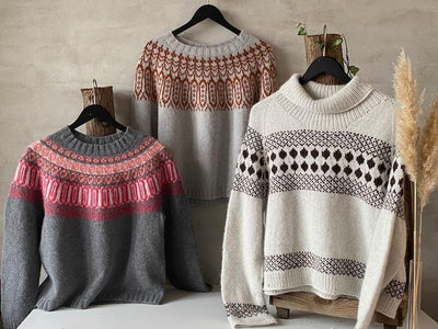 Knit-A-Long - knit Nordic sweaters with Önling #NordicSweaterKAL