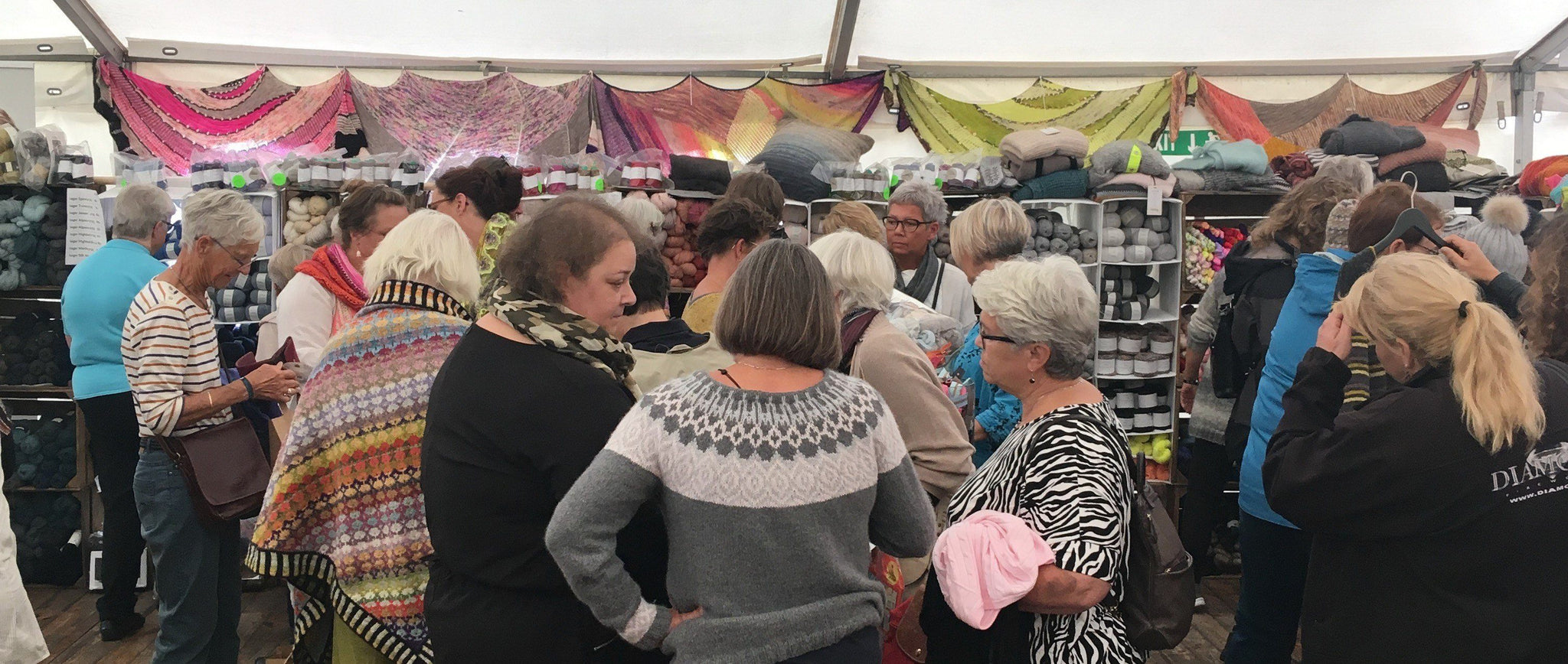 When we meet face to face, knitting festivals and fairs