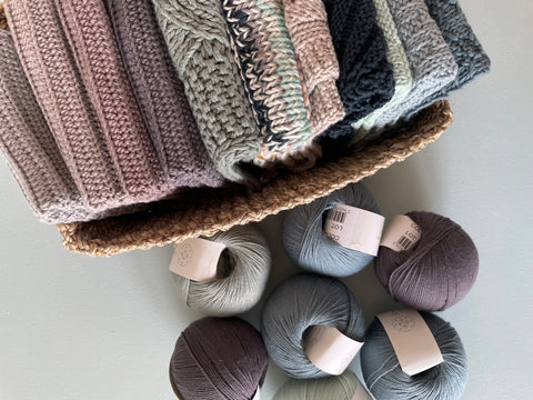 Knitted dish cloths for beginners