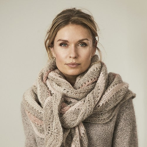 Katrine Hannibal kits for shawls and scarves