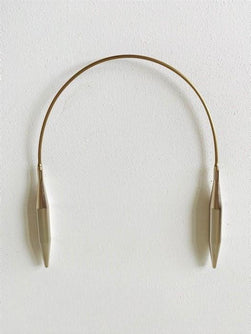 Addi circular needle, 10mm, 40cm.