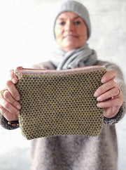 Advent 2018 makeup clutch, No 2 knitting kit
