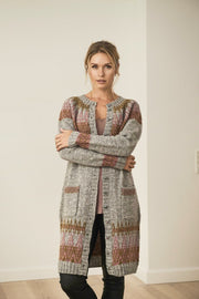 Alva cardigan, Isager knitting kit