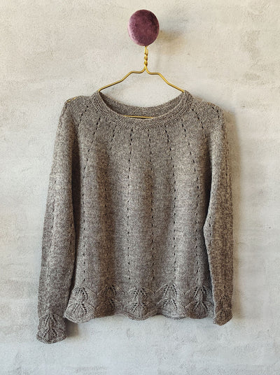 Axis sweater, Isager kit Knitting kits Önling - Katrine Hannibal