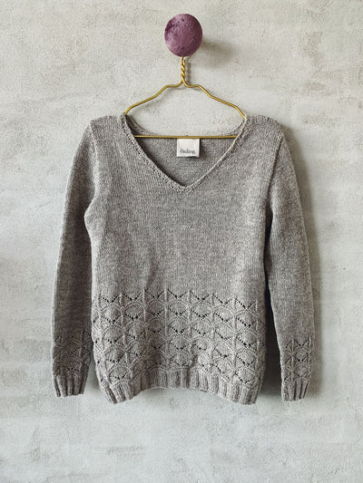 Becca sweater, Isager kit Knitting kits Önling - Katrine Hannibal