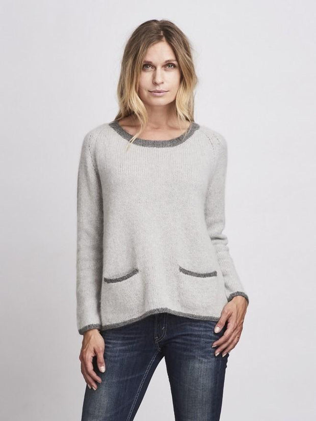 Bernadette sweater, No 1 knitting kit Knitting kits Önling - Katrine Hannibal