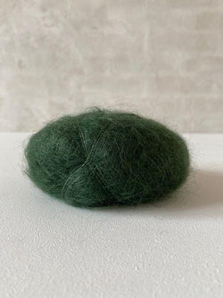 Brushed Lace - Mohair by Canard, silk mohair Yarn Mohair by Canard Bottle green (3025)