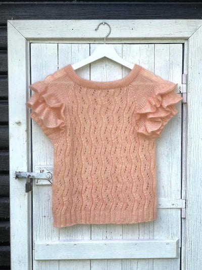 Buenos Aires Tee by Yarn Lovers, knitting pattern
