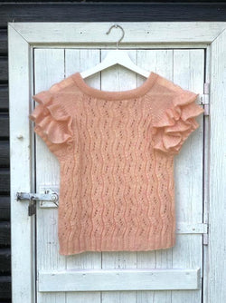 Buenos Aires Tee by Yarn Lovers, No 10 silk mohair, knitting kit