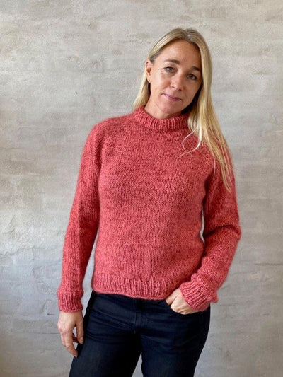 Chunky Easy Peasy sweater knitting pattern Knitting patterns Önling - Katrine Hannibal