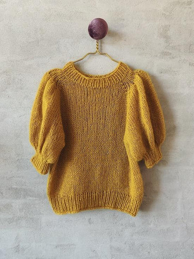 Chunky T-shirt on large needles, knitting pattern