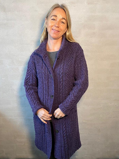 Classic cardigan by Hanne Falkenberg, knitting kit Knitting kits Hanne Falkenberg