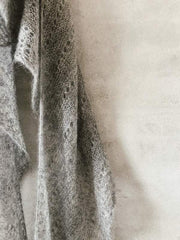 Cloud shawl, light, airy shawl knit in Silk Mohair - Önling Nordic knitting patterns and yarn