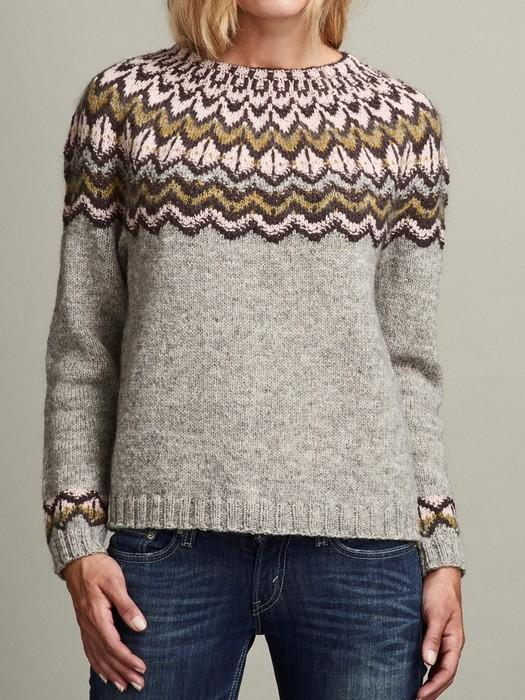 Draka icelandic sweater, handknitted in Denmark