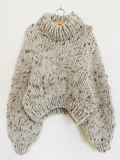 Drama Jumper by Spektakelstrik, knitting pattern Knitting patterns Spektakelstrik