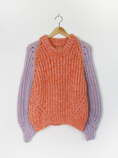 Duo Jumper by Spektakelstrik, knitting kit Knitting patterns Spektakelstrik