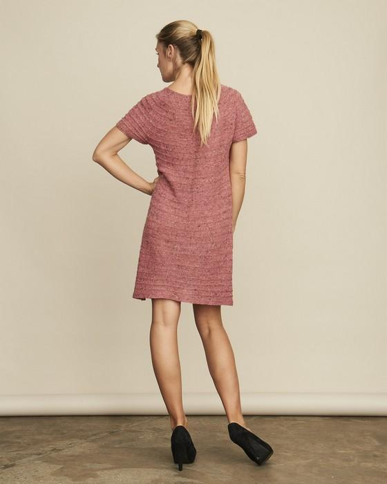 Erika dress, silk knitting kit