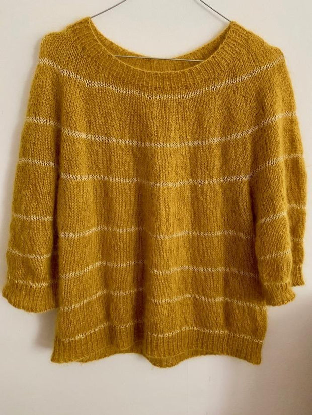 Fluffy Fluffy sweater, mono-color knitting kit