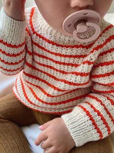 Friday Sweater for baby by PetiteKnit, No 11 knitting kit Knitting kits PetiteKnit