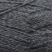 Isager Highland Wool yarn, the color Charcoal (grey), made of 100 % Peruvian Highland Wool.