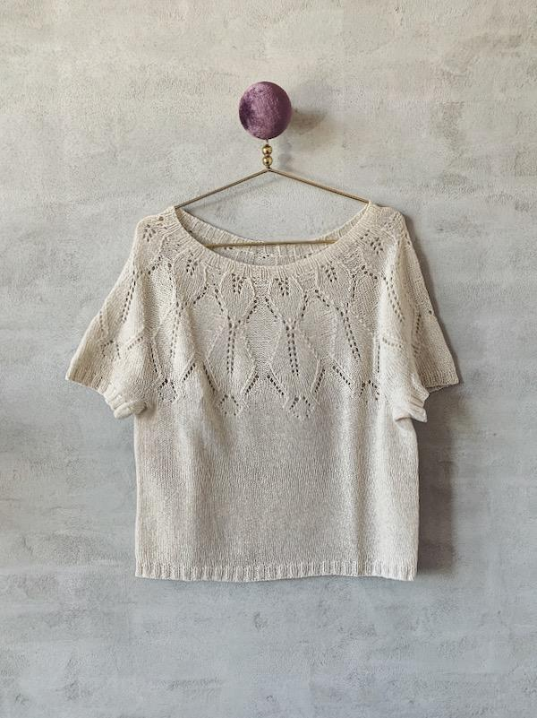 Iris summer top, Everyday knitting kit