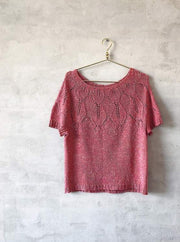 Iris summer top, silk knitting kit