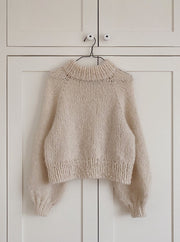 Louisiana Sweater from PetiteKnit, No 12 + silk mohair knitting kit