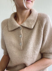 Maude Tee from PetiteKnit, No 12 + silk mohair knitting kit