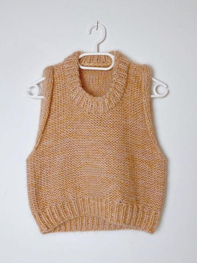 Mega Saga Vest by Spektakelstrik, knitting pattern Knitting patterns Spektakelstrik