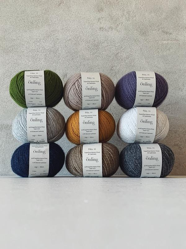 Önling No 11, sustainable merino/cashmere yarn