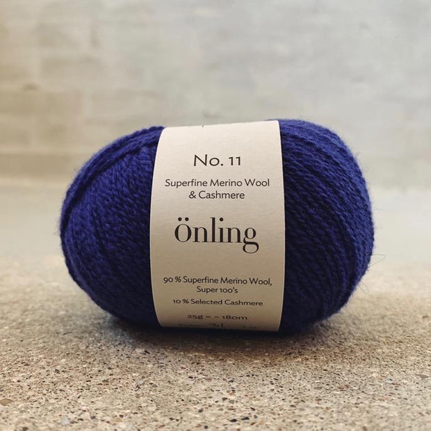 Önling No 11, sustainable merino/cashmere yarn Yarn Önling Purple Blue (31)