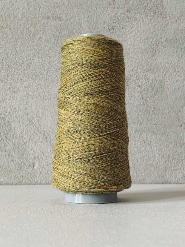 Önling No 13 – accompanying Cashmere thread Yarn Önling Dark yellow mixed (42)
