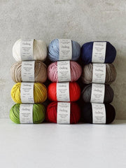 Önling No 14, GOTS-certified organic cotton/linen yarn