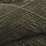 Isager Silk Mohair color 68 dark green, 70% Super Kid Mohair and 30% Silk