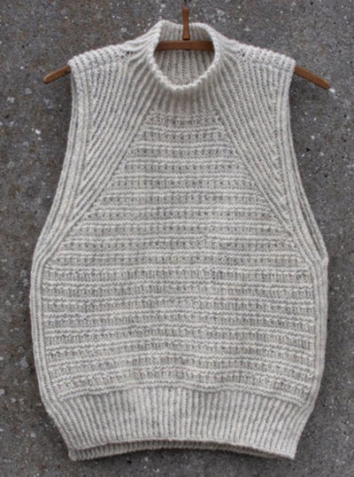 Slanting Slipover by Anne Ventzel, knitting pattern Knitting patterns Anne Ventzel
