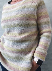 Summer in Denmark sweater, Isager knitting kit