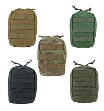 Load image into Gallery viewer, Modular (MOLLE) Utility Vertical Pouch, Medium