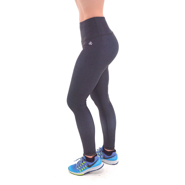 Performance Leggings Geo Print