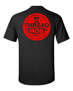 SUPER SOFT ThreadMob TEE - Red Print