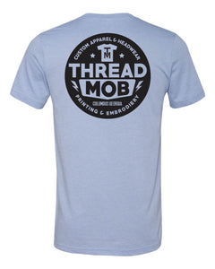 Bella + Canvas ThreadMob TEE - Heather Blue