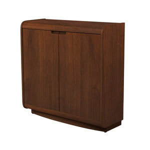 PC208 - Universal Cabinet Walnut - PRE ORDER FOR DELIVERY W/C 4/1/21